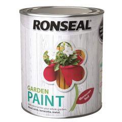 Ronseal Garden Paint - Moroccan Red