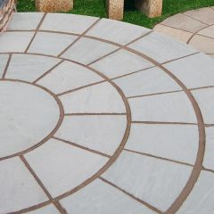 Digby Stone - Sandstone Circle - Mountain Mist - Hand Cut