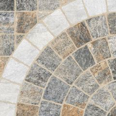 Digby Stone - Multicolour Arco Bianco Cobblestone Porcelain