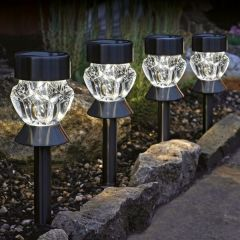 Smart Garden - Nickel Crystal Stake Light