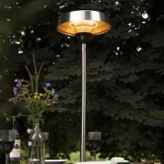 Silver Series Standing Halogen Electric Heater