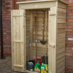 Forest - Pent Tall Garden Store - Pressure Treated
