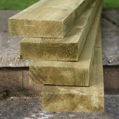 KDM Planed pine Gravel Board