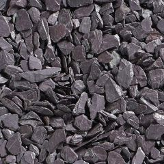 Plum Slate Chippings - 20mm
