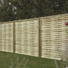 Premium Woven Fence Panels