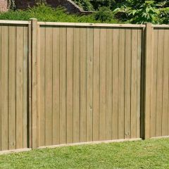 Forest - Vertical Tongue And Groove Fence Panels