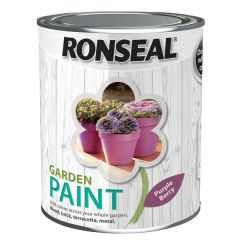 Ronseal Garden Paint - Purple Berry