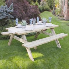 Forest - Large Rectangular Picnic Table
