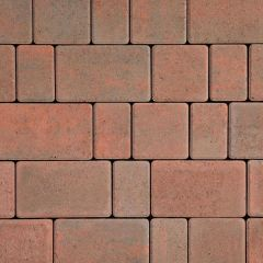 Formpave - Chartres Red Brindle Linear Block Paving