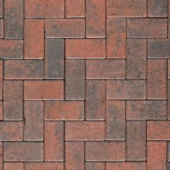Formpave - Royal Forest Red Brindle Block Paving