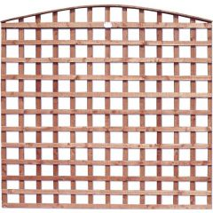 Earlswood - Arch Top Square Grid Trellis