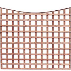 Earlswood - Bow Top Square Grid Trellis