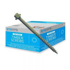 SiteMate 8mm Hex Head Timber Screws