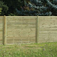 KDM - Slatted Fence Panels