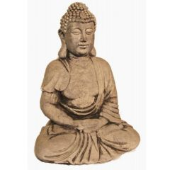 Dream Gardens - Small Robe Buddha Stoneware Ornament