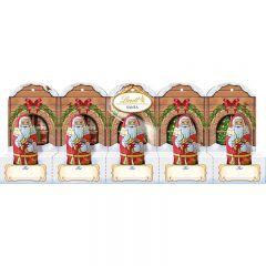 Lindt Santa Perforated Pack - 50g
