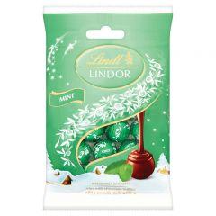 Lindt Lindor Mint Mini Truffles Bag  - 80g