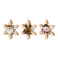 Premier - Hanging Snowflake With LEDS