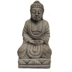 Dream Gardens - Square Buddha Stoneware Ornament