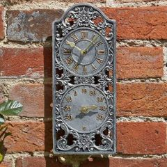 Smart Garden - Westminster Wall Clock & Thermometer