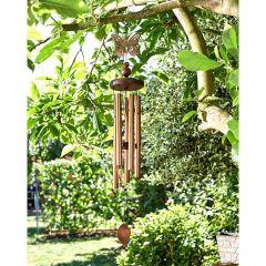 Smart Garden - Bronze Butterfly Windchime