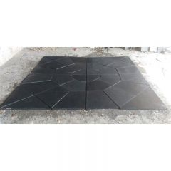 Earlstone Stratus Grey 2.4m Limestone Octant Feature