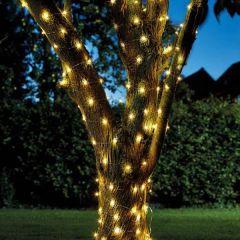 Smart Garden - 50 Warm White Firefly Solar String Lights