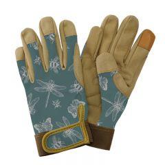 Kent & Stowe - Teal Flutter Bugs Comfort Gloves