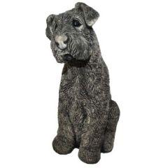 Dream Gardens - Terrier Stoneware Ornament