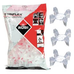 Rubi - Twinflex Tile Spacers 2-5mm (100pcs)