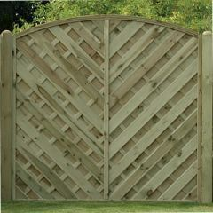 KDM V Arched Fence Panel