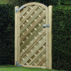 6' x 3' V Arched Gate