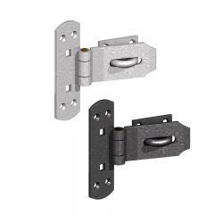 "6"" Vertical Heavy Pattern Hasp & Staple"