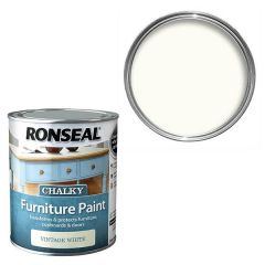 Ronseal - Chalky Furniture Paint - Vintage White