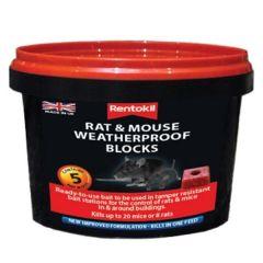 Rentotkil - Rat & Mouse Weatherproof Blocks